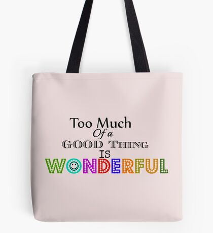 Wonderful Things ... Tote Bag