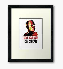 Zed Is Dead Framed Print