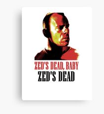 Zed Is Dead Canvas Print