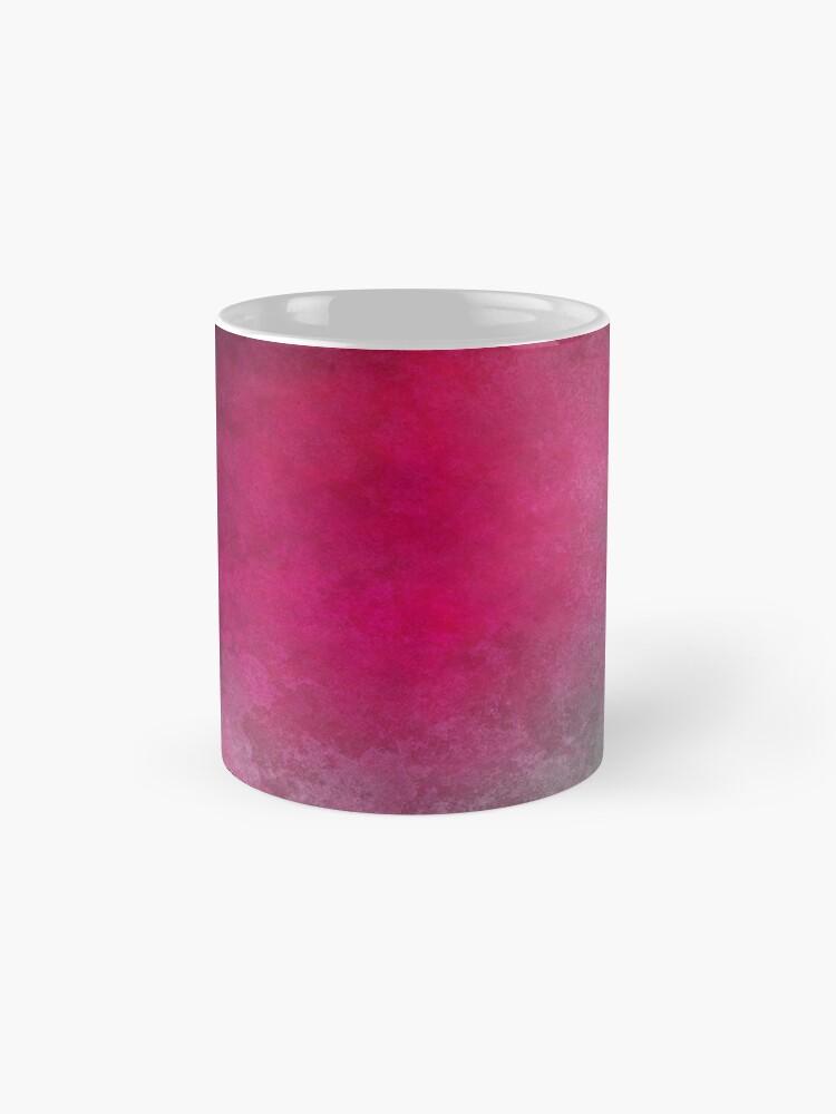 Alternate view of Hot Pink Mask Abstraction Mug