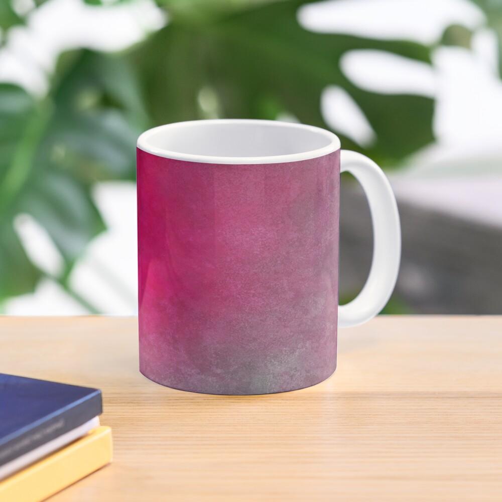 Hot Pink Mask Abstraction Mug