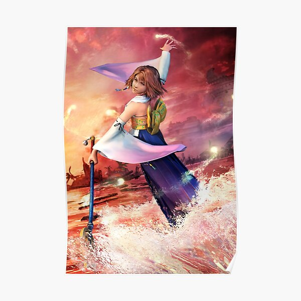Yuna - Final Fantasy X Póster