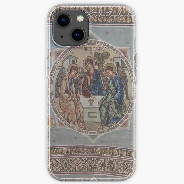 Romanian Orthodox Trinity Icon iPhone Soft Case