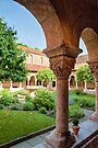 Cloisters Courtyard (OJ) by Ray Warren