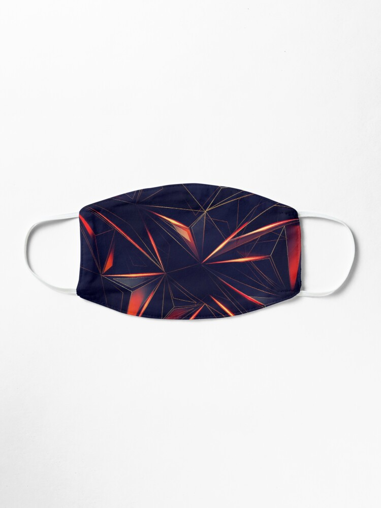 Alternate view of Spacey Crystalline Mask Abstraction Mask