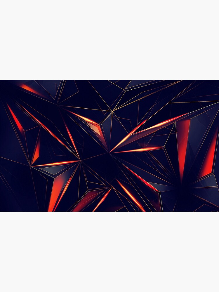 Spacey Crystalline Mask Abstraction by mikepil