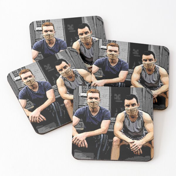 On the Porch Coasters (Set of 4)