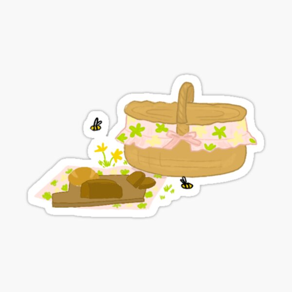 Picnic sticker Sticker