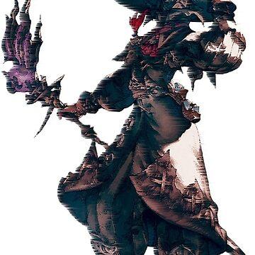 Black Mage FFXIV by MagicaDesigns