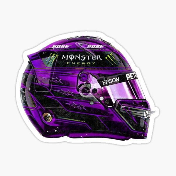 Casque Crash Lewis Hamilton Mercedes-AMG Petronas F1 2020 Sticker