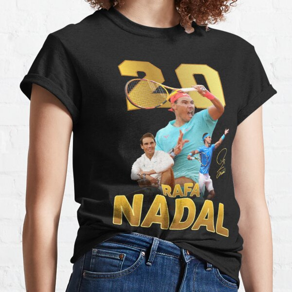 Rafa Nadal 20 Grand Slam Champion Classic T-Shirt