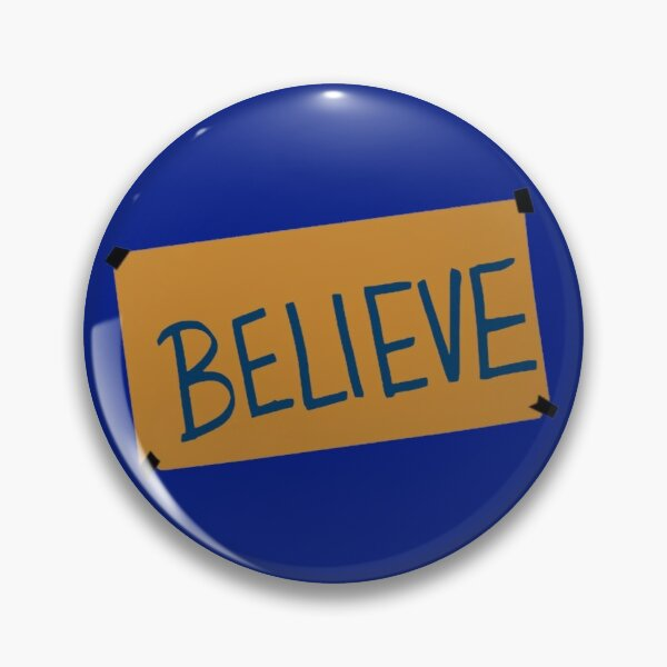Ted Lasso AFC Richmond - BELIEVE - HD Graphic Pin