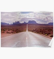 US Highway 163 Poster
