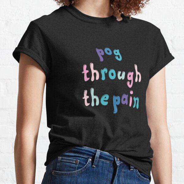 tommyinnit : pog through the pain Classic T-Shirt