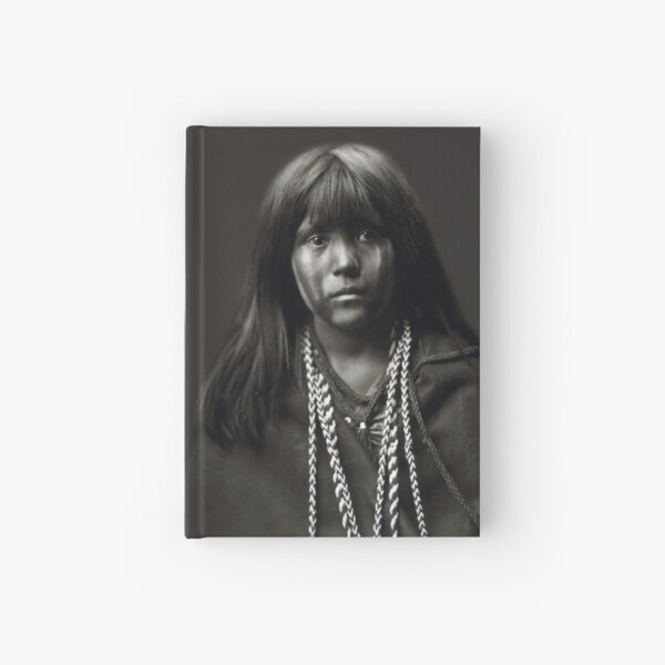 Mosa, A Mojave Woman by Edward S. Curtis Hardcover Journal