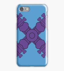 Evil Skeleton Man Chest Plate iPhone Case/Skin