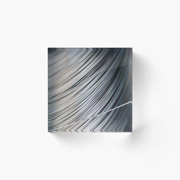 Stainless steel  #Stainless #steel #Stainlesssteel  Acrylic Block