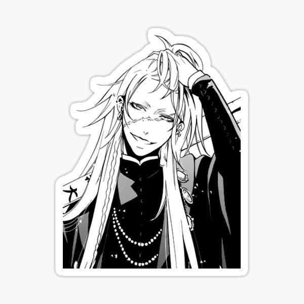 Mayordomo negro - Enterrador Pegatina