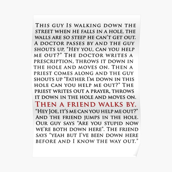 """The West Wing """"I know the way out"""" speech  Poster"""