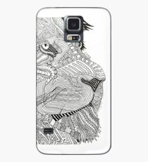 Doodle Lion Case/Skin for Samsung Galaxy