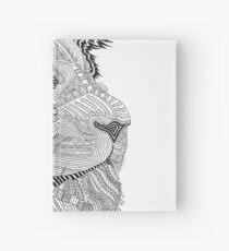 Doodle Lion Hardcover Journal