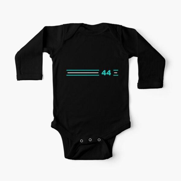 F1 Lewis Hamilton 44 Body de manga larga para bebé