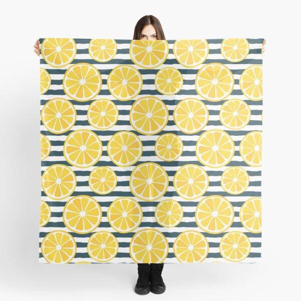 Lemons and Stripes Scarf