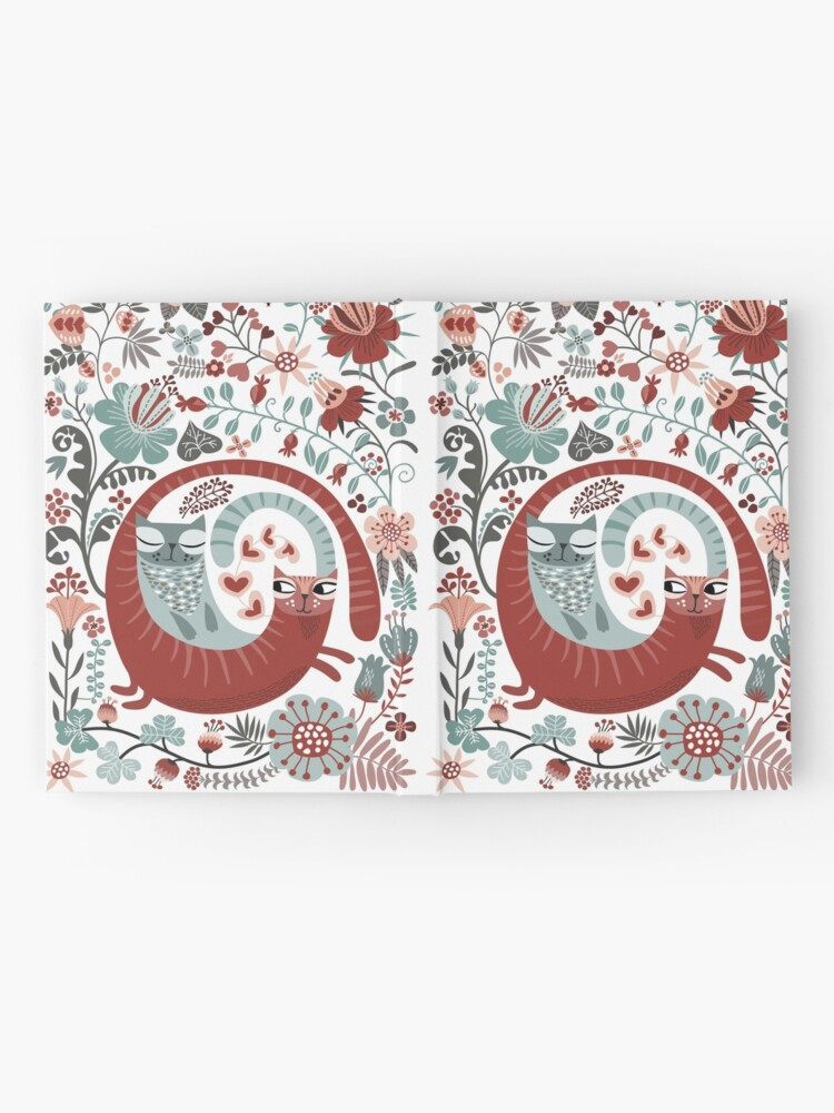 Alternate view of Love cats Hardcover Journal
