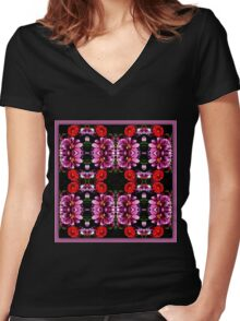 protocol Women's Fitted V-Neck T-Shirt