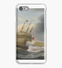 Thomas Luny PORTSMOUTH FROM SPITHEAD; THE ENTRANCE TO CORK HARBOUR iPhone Case/Skin