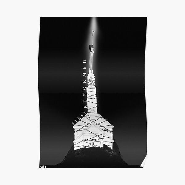 First Reformed alternative film poster — Transcend— dark version Poster