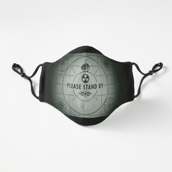 please stand by face mask Fitted 3-Layer
