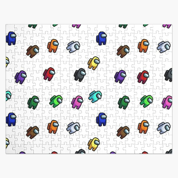 Among Us Pattern Jigsaw Puzzle