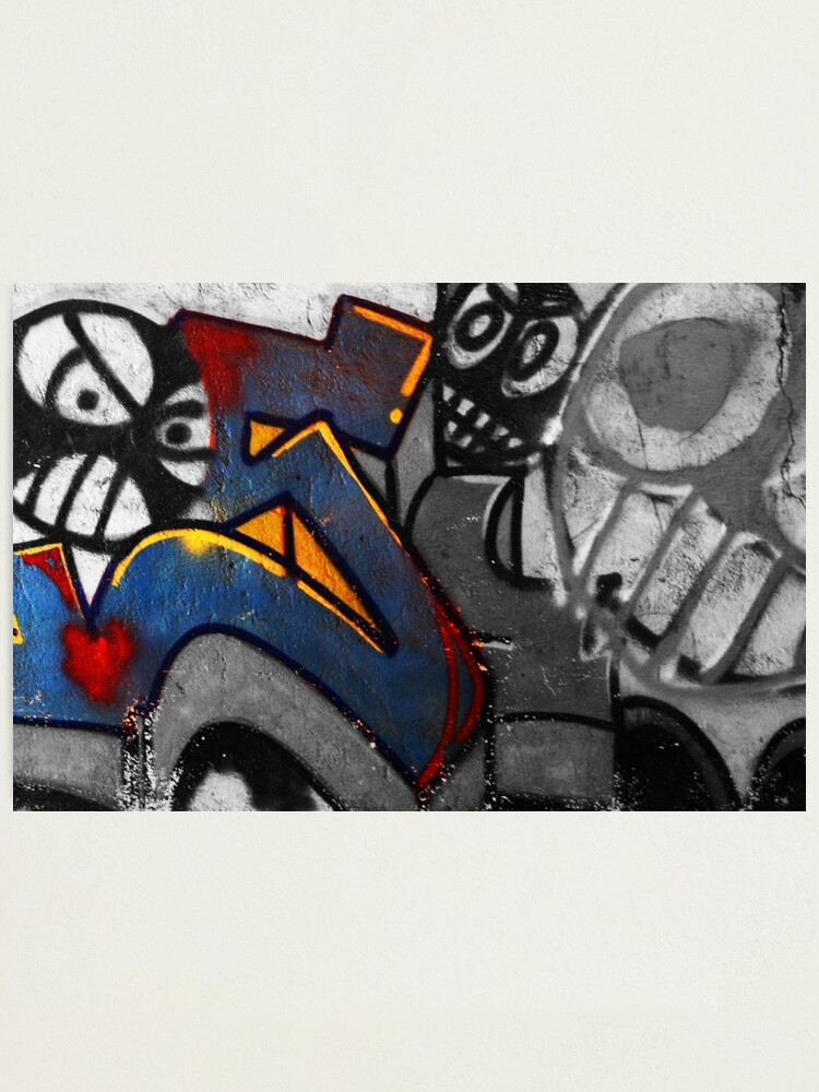 Alternate view of Graffiti 1 Photographic Print