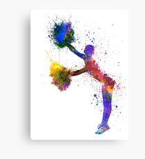 young woman cheerleader 07 Metal Print