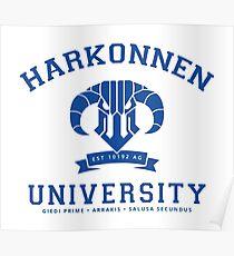 Harkonnen University | Blue Poster