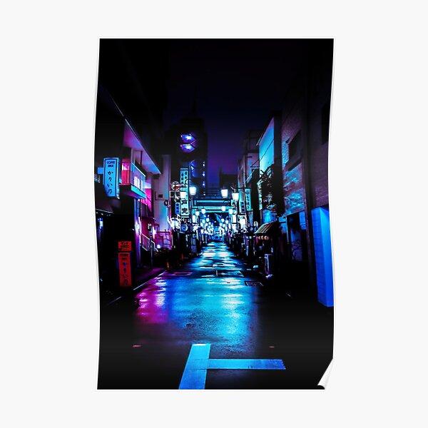 Shiny Street Tokyo Poster