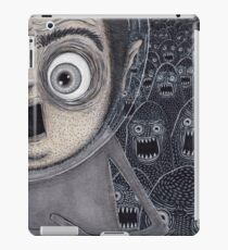 Allen Kazam Fleeing from Angry Sea Monsters iPad Case/Skin