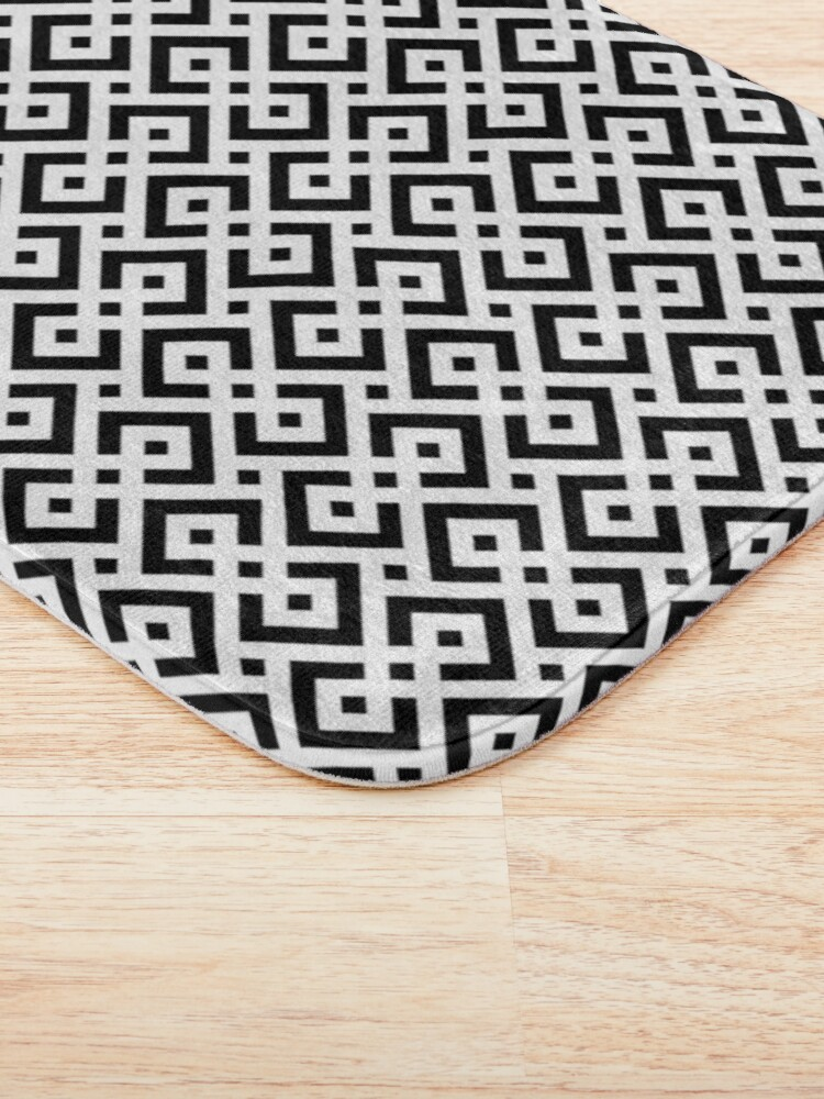 Alternate view of Trendy abstract Bath Mat