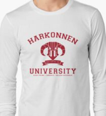 Harkonnen University | Red Long Sleeve T-Shirt
