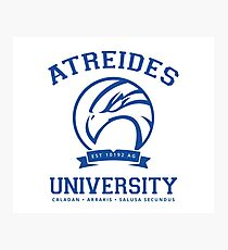 Atreides University | Blue Photographic Print
