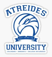 Atreides University | Blue Sticker
