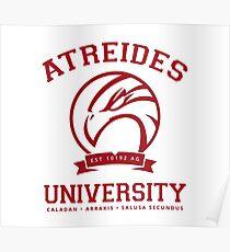 Atreides University | Red Poster