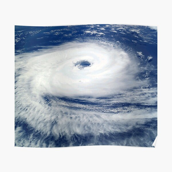 tropical cyclone Poster