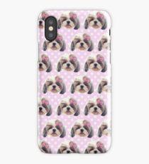 CUTE SHITZU DOG iPhone Case/Skin