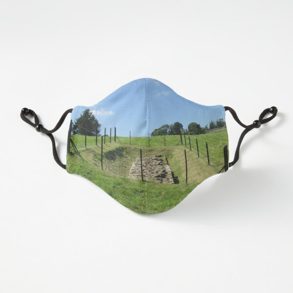 Merch #100 -- Fenced Off Rock Remains (Hadrian's Wall) Fitted 3-Layer
