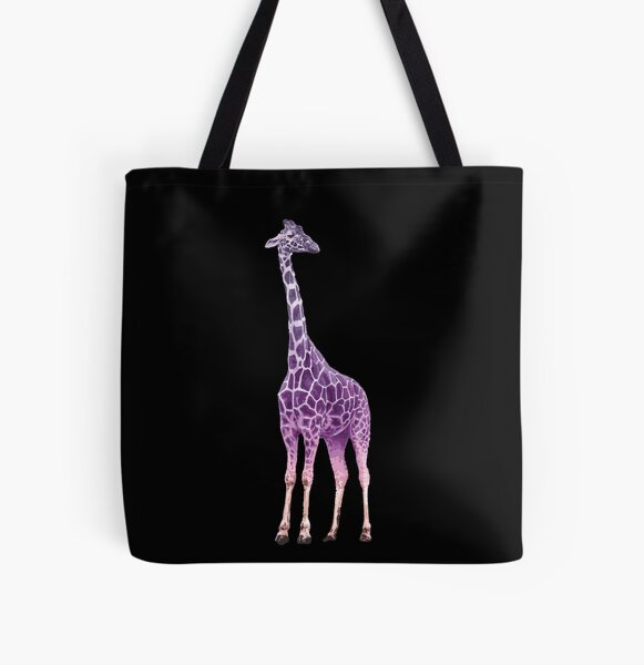 A gentle giant - Giraffe  All Over Print Tote Bag