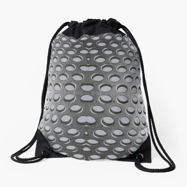 Aluminum Perforated Sheet Drawstring Bag