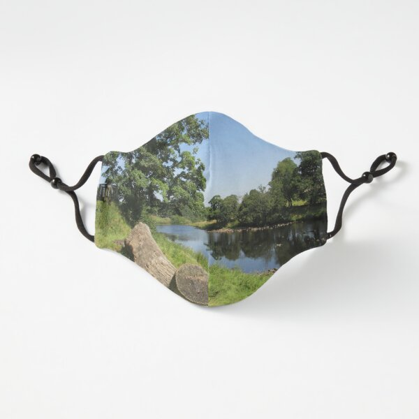 Merch #97 -- Stream Between Trees - Shot 6 (Hadrian's Wall) Fitted 3-Layer
