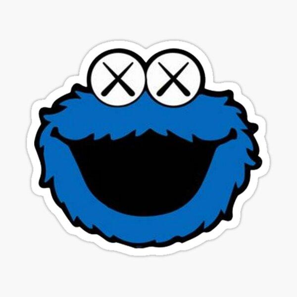 smile kawss blue Sticker